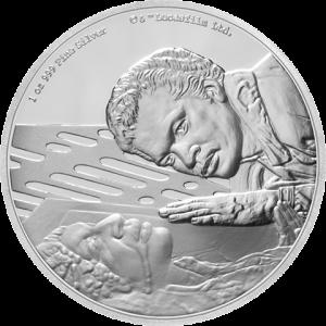 Lando Calrissian Silver Coin Silver Collectible