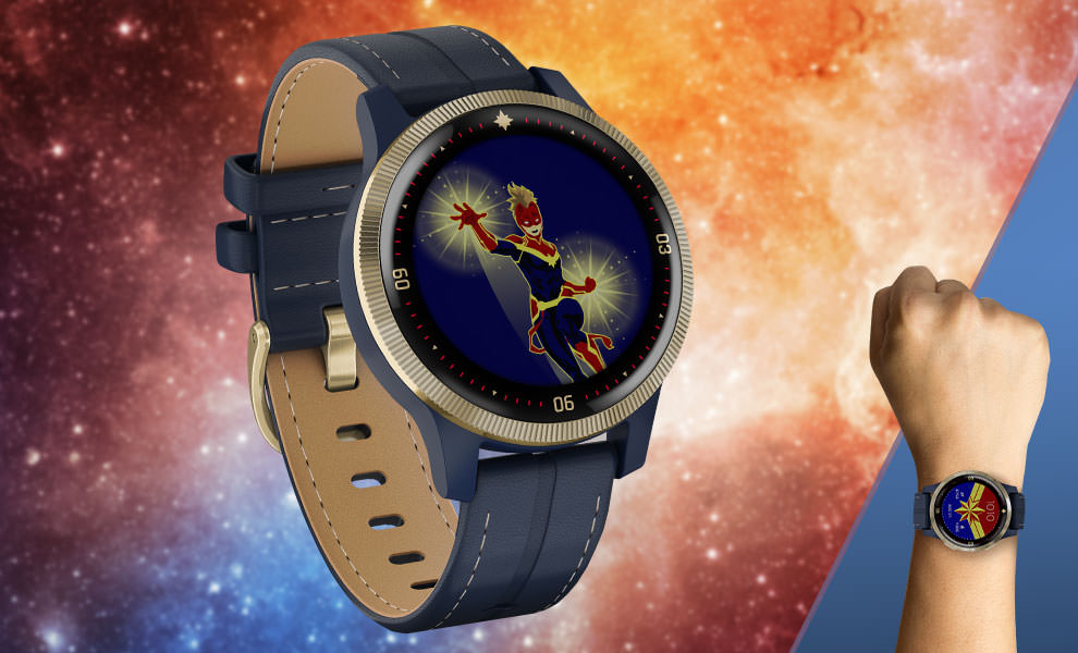 Gallery Feature Image of Captain Marvel Smartwatch Jewelry - Click to open image gallery