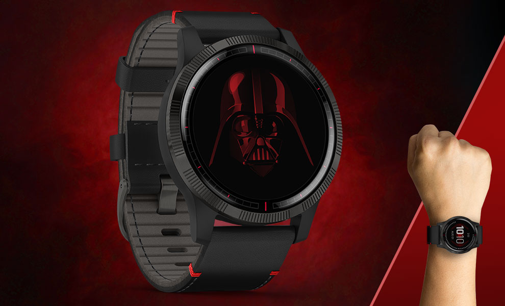 Gallery Feature Image of Darth Vader™ Smartwatch Jewelry - Click to open image gallery