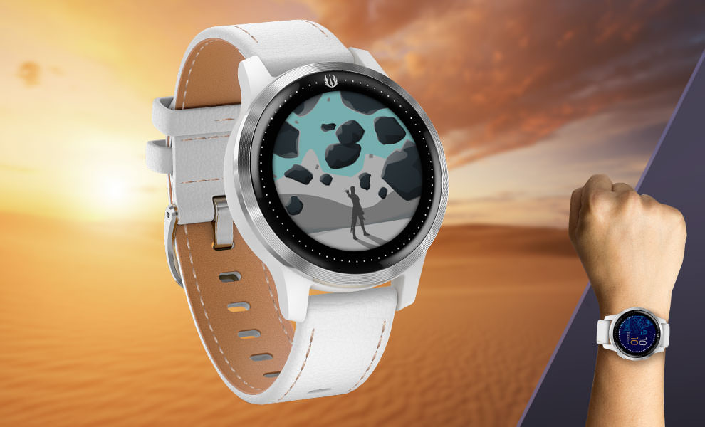 Gallery Feature Image of Rey Smartwatch Jewelry - Click to open image gallery