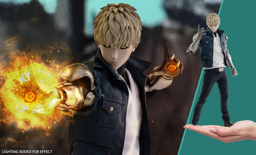 Gallery Feature Image of Genos (Standard) Sixth Scale Figure - Click to open image gallery