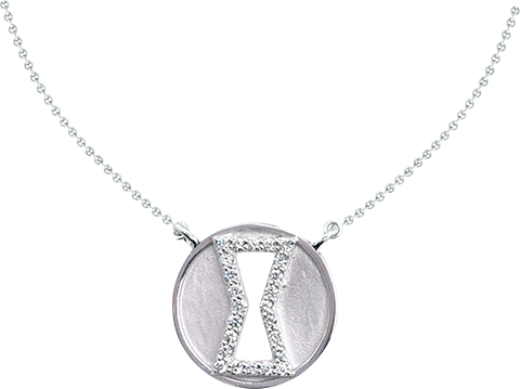 Whats Your Passion Jewelry Black Widow Diamond Necklace Jewelry