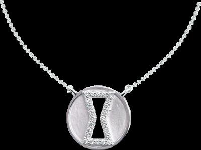 Black Widow Diamond Necklace Jewelry