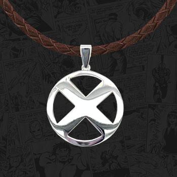 X-Men Logo Necklace Jewelry