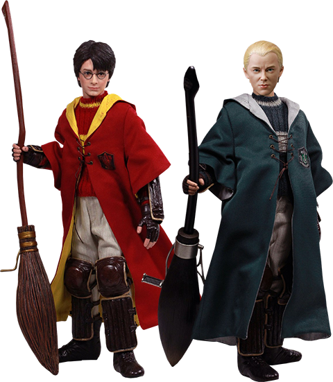 Star Ace Toys Ltd. Harry Potter & Draco Malfoy 2.0 (Quidditch Twin Pack) Sixth Scale Figure Set