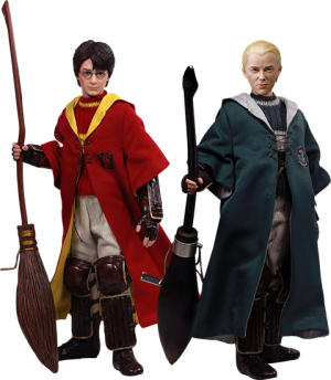 Harry Potter & Draco Malfoy 2.0 (Quidditch Twin Pack) Sixth Scale Figure Set