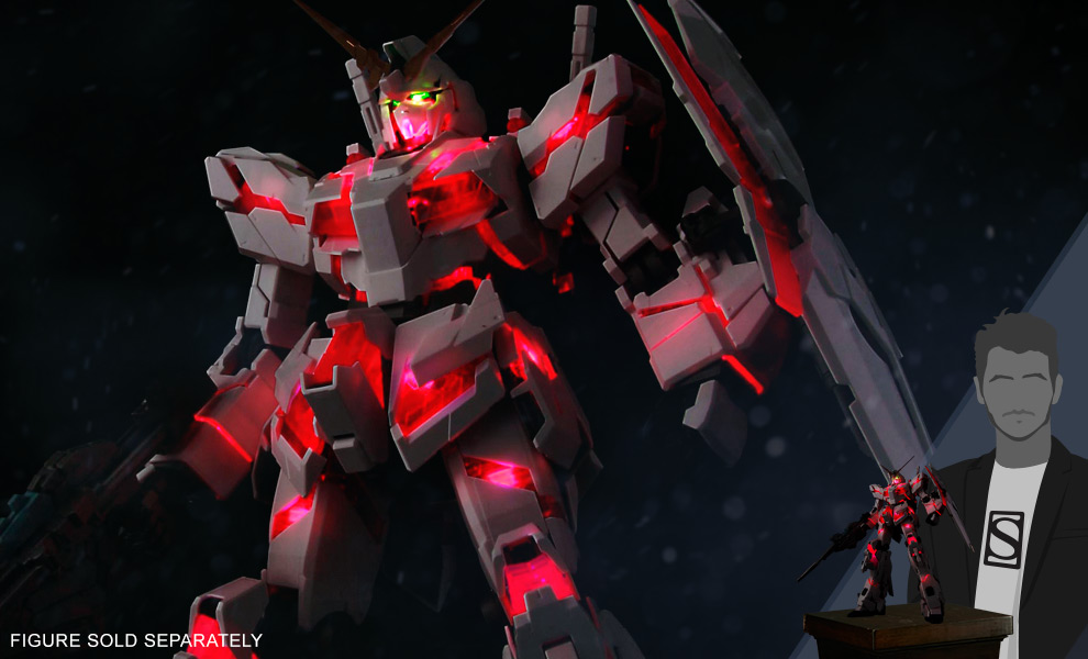 Gallery Feature Image of Unicorn Gundam LED Accessories Set - Click to open image gallery