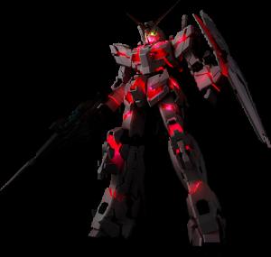 Unicorn Gundam LED Accessories Set