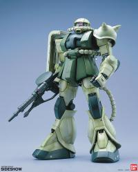 Gallery Image of MS-06F Zaku II Green Figure