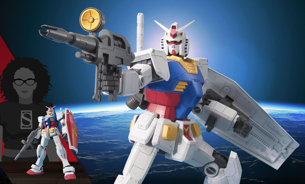 Gallery Feature Image of RX-78-2 Gundam 1:48 Figure - Click to open image gallery