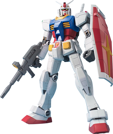 Bandai RX-78-2 Gundam 1:48 Figure