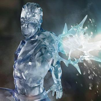 Iceman 1:10 Scale Statue