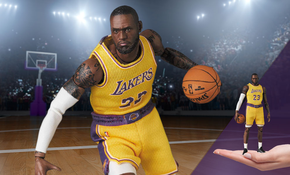 Gallery Feature Image of LeBron James Collectible Figure - Click to open image gallery
