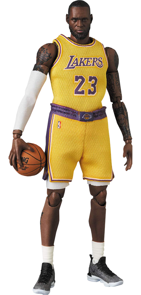 Lebron James Mafex Collectible Figure By Medicom Toy Sideshow Collectibles