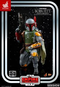 Gallery Image of Boba Fett (Vintage Color Version) Sixth Scale Figure