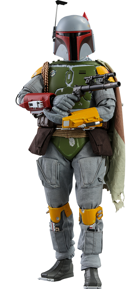 Hot Toys Boba Fett (Vintage Color Version) Sixth Scale Figure