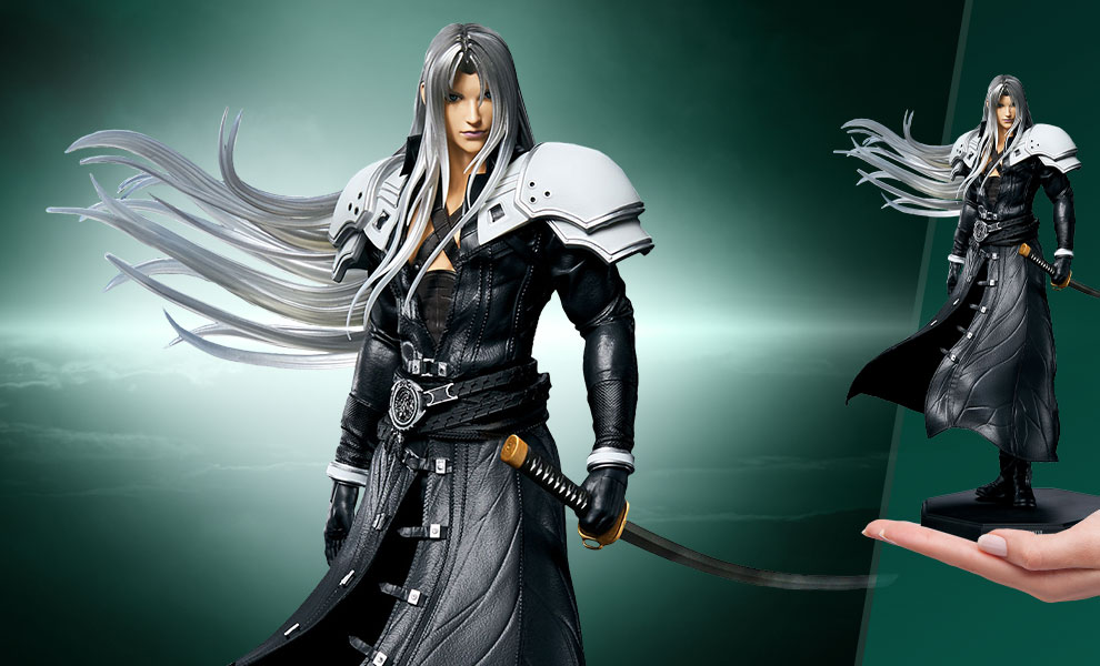 Gallery Feature Image of Sephiroth Statuette - Click to open image gallery