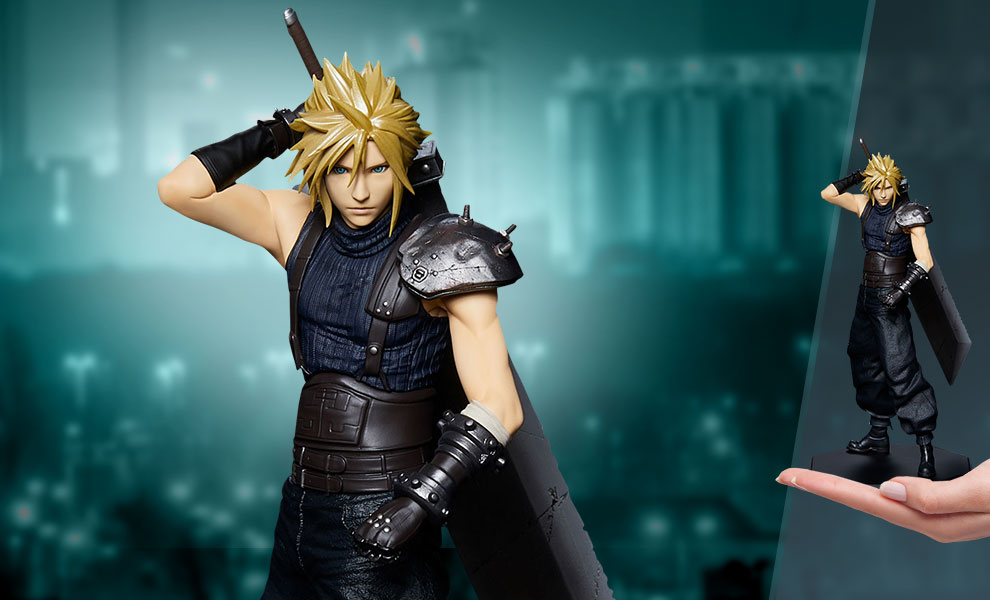 Gallery Feature Image of Cloud Strife Statuette - Click to open image gallery