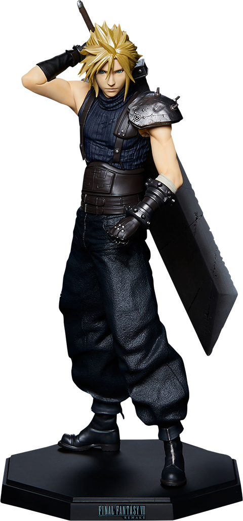 Square Enix Cloud Strife Statuette