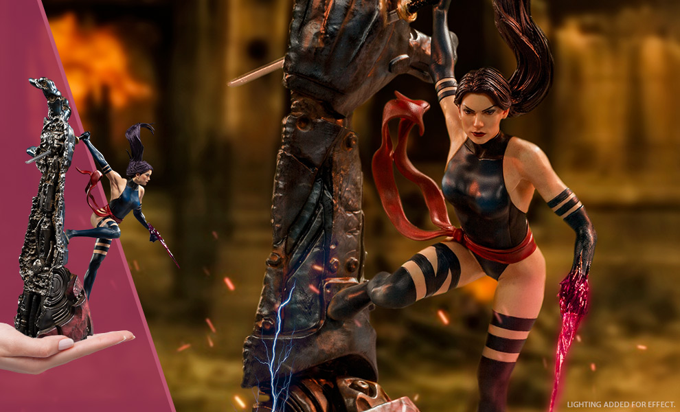 Gallery Feature Image of Psylocke 1:10 Scale Statue - Click to open image gallery