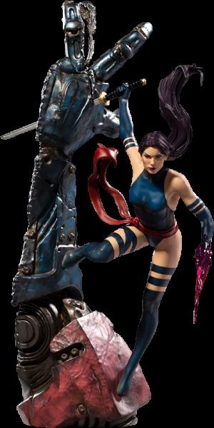 Psylocke 1:10 Scale Statue