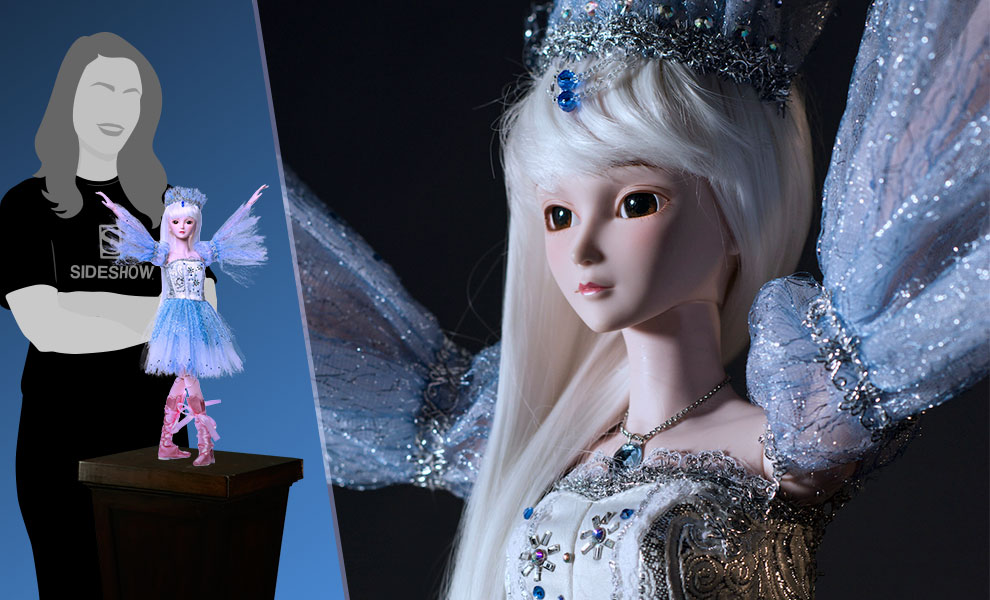 Gallery Feature Image of Snow Queen Doll - Click to open image gallery