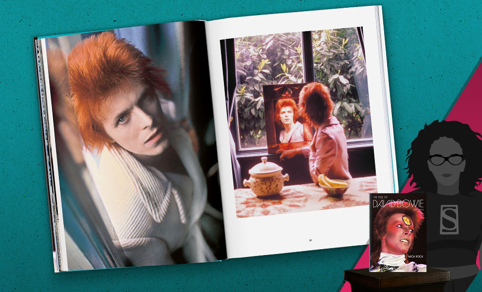 Gallery Feature Image of Mick Rock. The Rise of David Bowie, 1972-1973 Book - Click to open image gallery