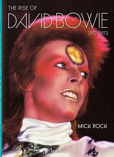 TASCHEN Mick Rock. The Rise of David Bowie, 1972-1973 Book