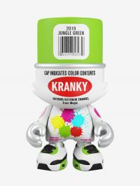Gallery Image of Jungle Green Superkranky Designer Collectible Toy