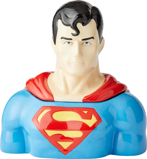 Department 56 Superman Cookie Jar Kitchenware