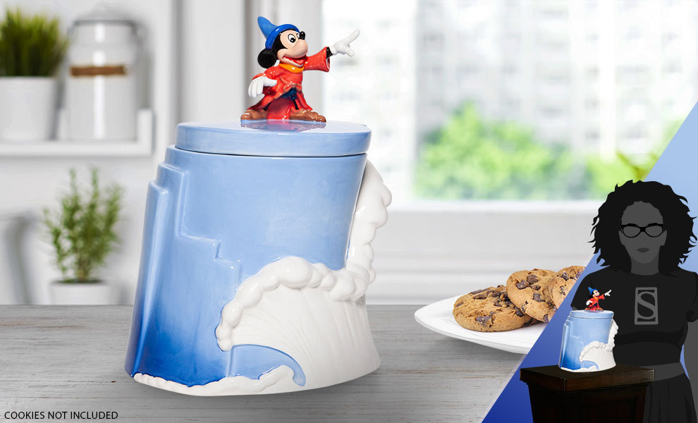 Gallery Feature Image of Fantasia 80th Anniversary Cookie Jar Kitchenware - Click to open image gallery