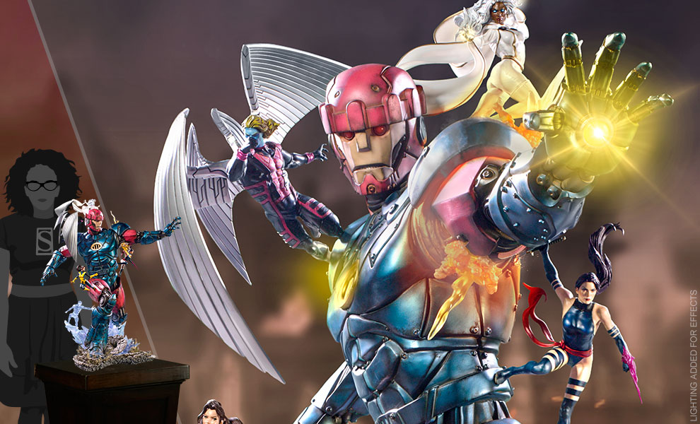 Gallery Feature Image of X-Men VS Sentinel #3 (Deluxe) 1:10 Scale Statue - Click to open image gallery