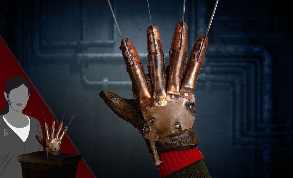 Gallery Feature Image of Freddy Krueger Deluxe Glove (Freddy's Revenge) Prop - Click to open image gallery