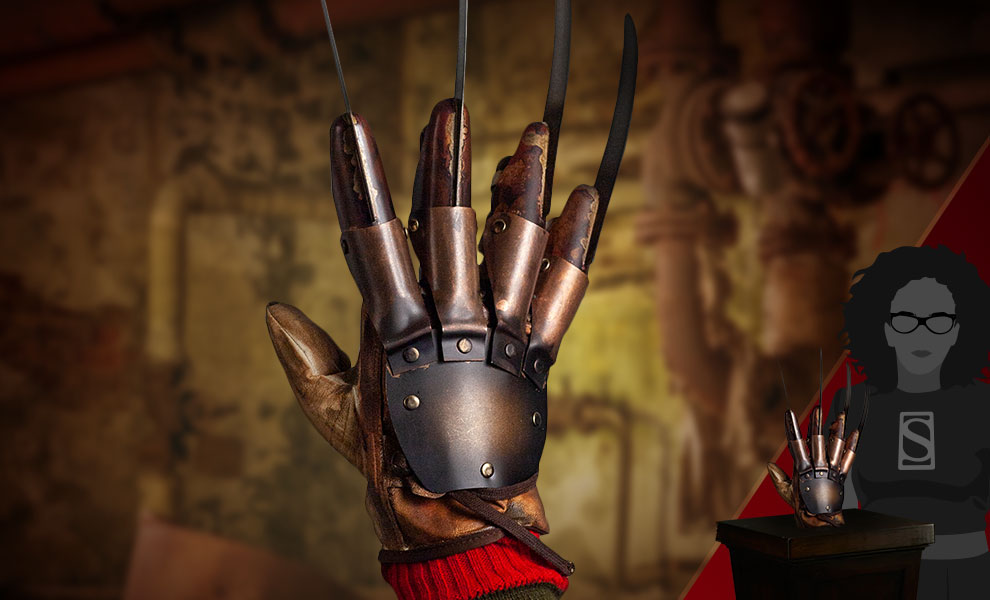 Gallery Feature Image of Freddy Krueger Deluxe Glove (Dream Warriors) Prop - Click to open image gallery