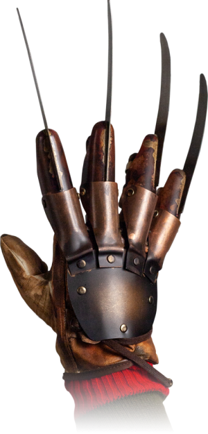 Freddy Krueger Deluxe Glove (Dream Warriors) Prop