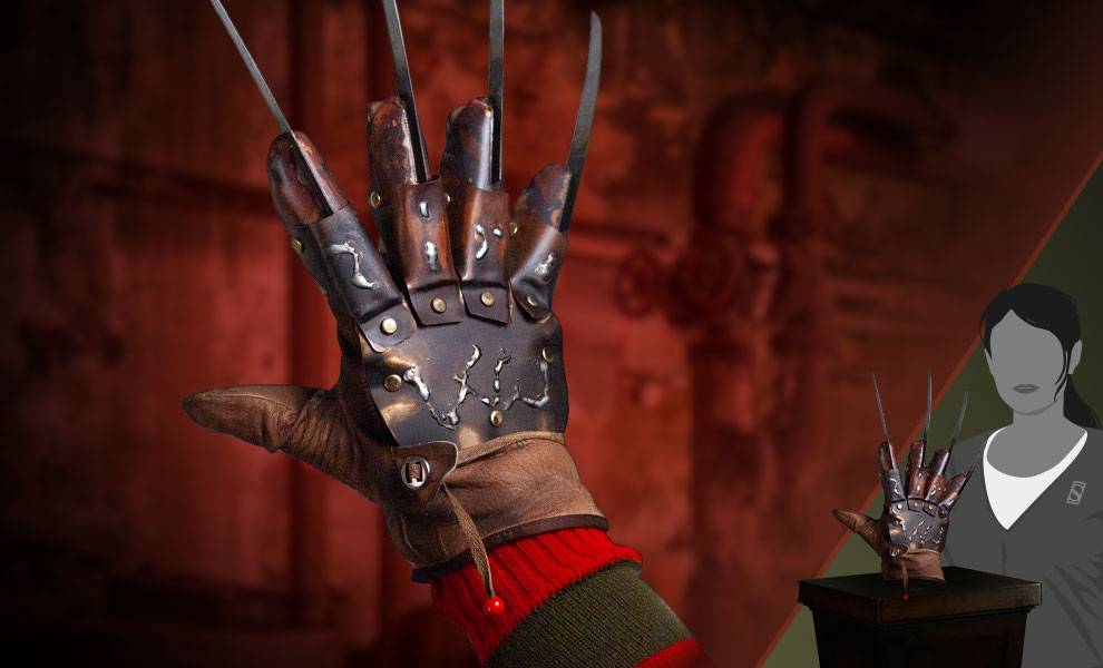 Gallery Feature Image of Freddy Krueger Deluxe Glove (The Dream Master) Prop - Click to open image gallery