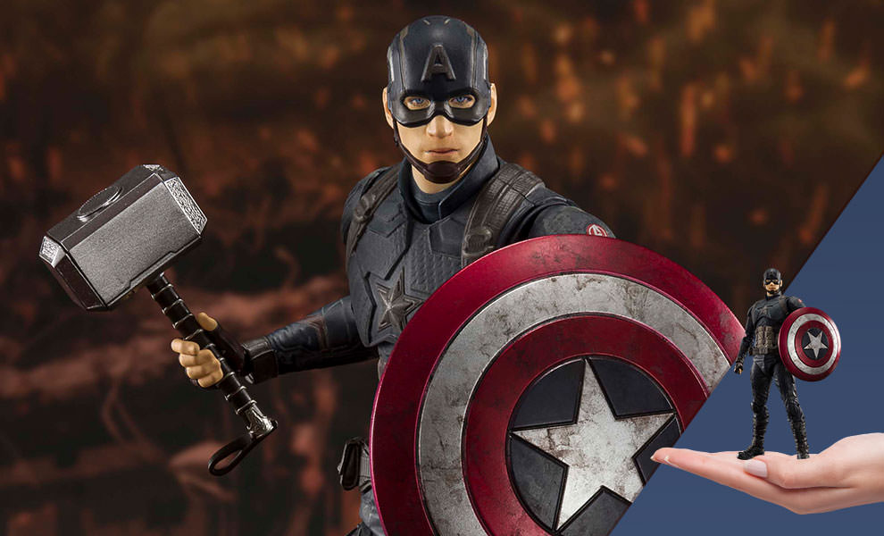 Gallery Feature Image of Captain America (Final Battle Version) Collectible Figure - Click to open image gallery