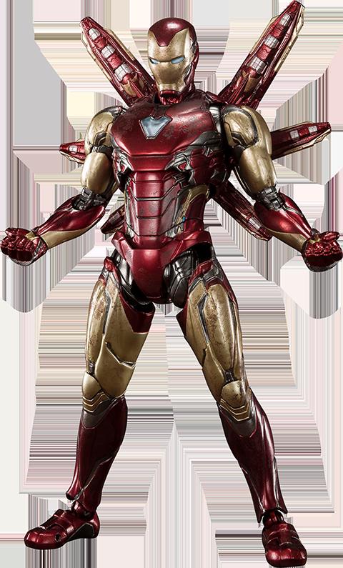 Bandai Iron Man Mark LXXXV (Final Battle Version) Collectible Figure