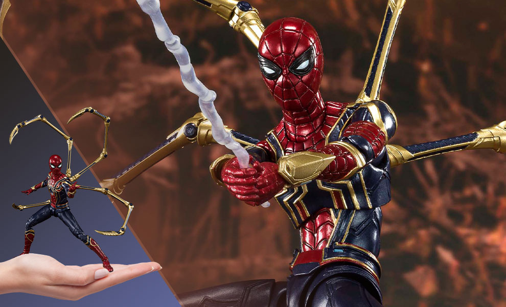 Gallery Feature Image of Iron Spider (Final Battle Version) Collectible Figure - Click to open image gallery