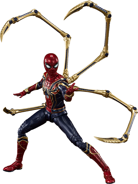 Bandai Iron Spider (Final Battle Version) Collectible Figure