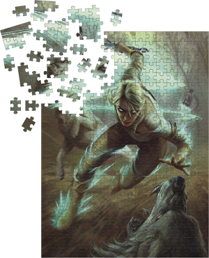 The Witcher 3: Ciri and the Wolves Puzzle