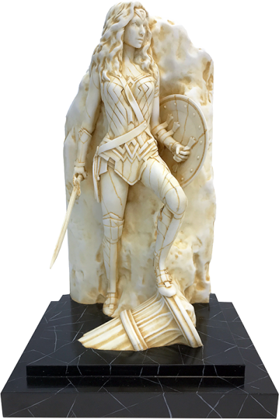 Wonder Woman (Neo-Classical Marble) Statue