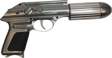 Factory Entertainment Standard Issue Agent Sidearm (J2) Prop Replica
