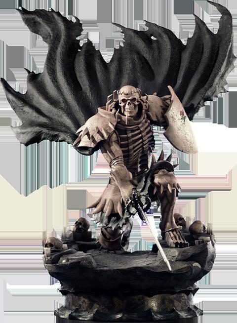 First 4 Figures Skull Knight (White Bone Variant) Statue