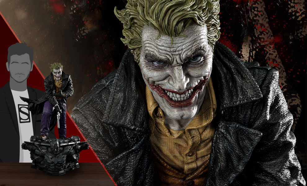 Gallery Feature Image of The Joker (Concept Design by Lee Bermejo) Statue - Click to open image gallery