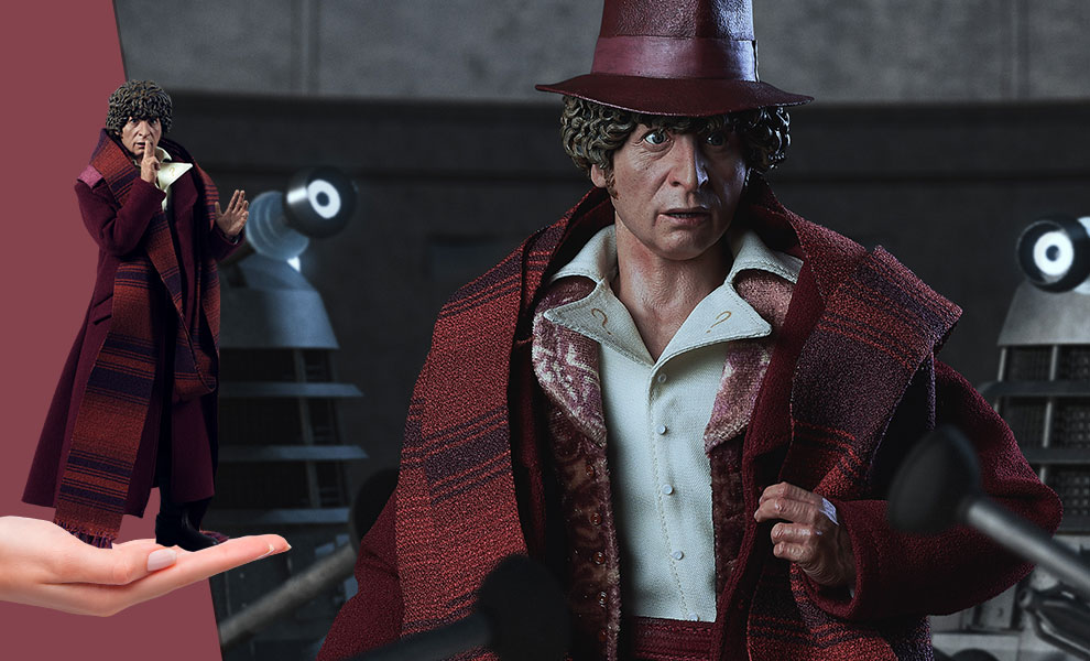Gallery Feature Image of Fourth Doctor Sixth Scale Figure - Click to open image gallery