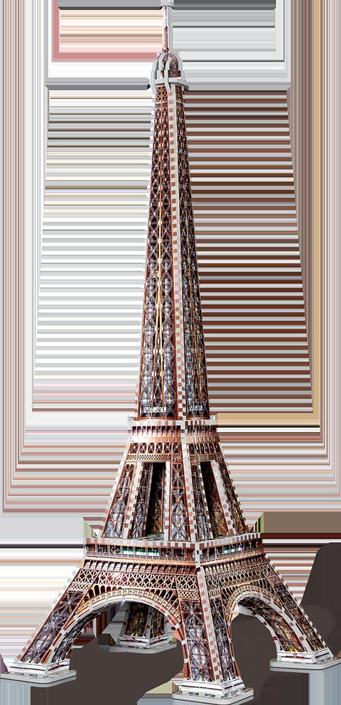 Wrebbit Puzzles Inc. Eiffel Tower 3D Puzzle Puzzle