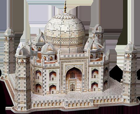 Wrebbit Puzzles Inc. Taj Mahal 3D Puzzle Puzzle