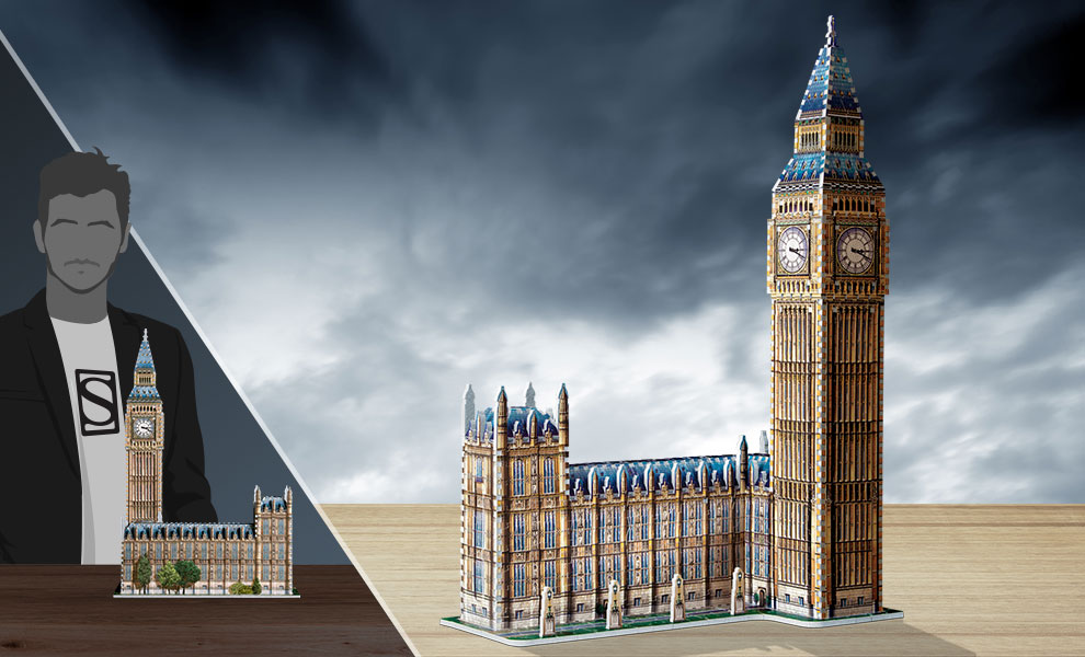 Gallery Feature Image of Big Ben 3D Puzzle Puzzle - Click to open image gallery