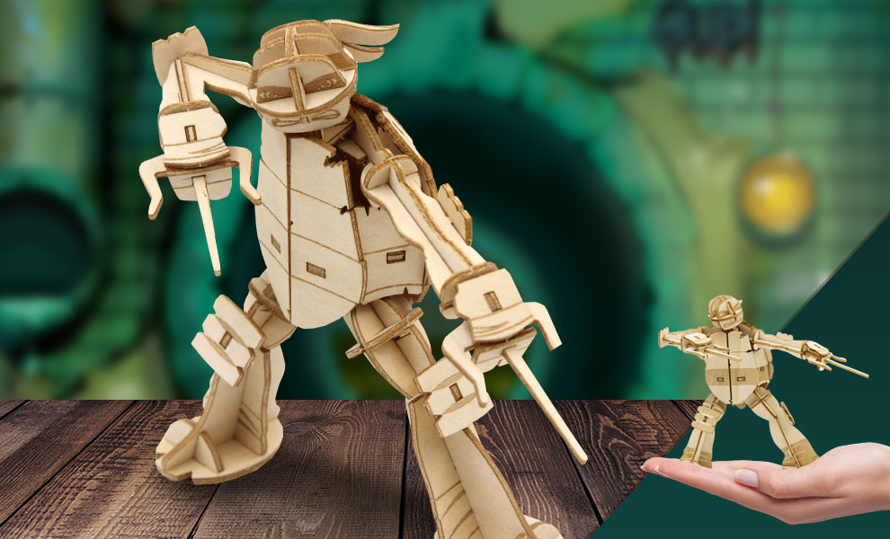 Gallery Feature Image of Raphael 3D Wood Model and Recipe Card Model Kit - Click to open image gallery